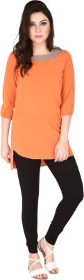 SOIE Solid Women's Tunic