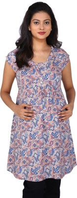 Momtobe Printed Women's Tunic
