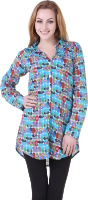 Silk Weavers Geometric Print Women's Tunic
