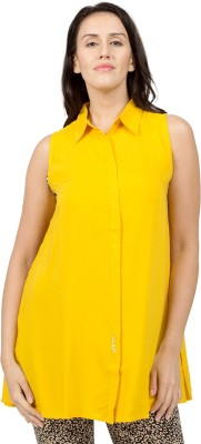 Desi Belle Solid Women's Tunic