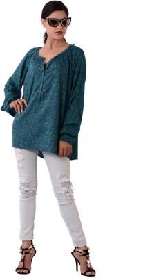 Fashnopolism Solid Women's Tunic