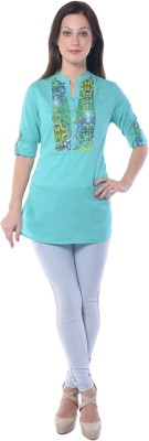 Florrie Fusion Solid Women's Tunic