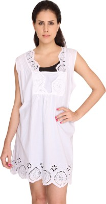 Bedazzle Self Design Women's Tunic