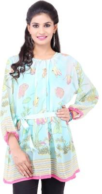 Pear Blossom Printed Women's Tunic