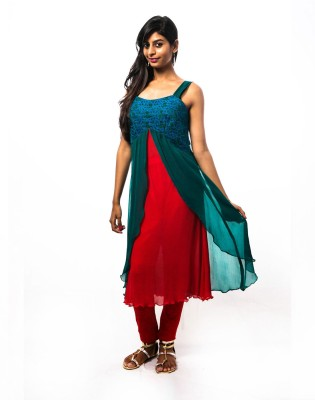 Vandanaraj Solid Women's Tunic