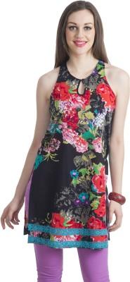 Bohemian You Floral Print Women's Tunic