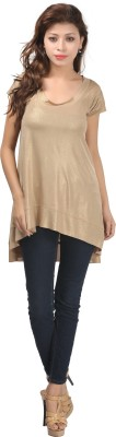 Just Wow Solid Women's Tunic