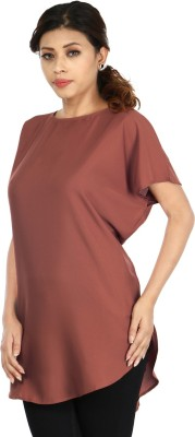 InDzone Solid Women's Tunic
