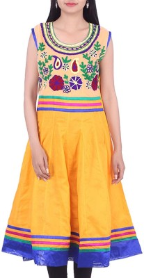 BleuIndus Embroidered Women's Tunic
