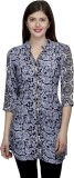 One Femme Floral Print Women's Tunic