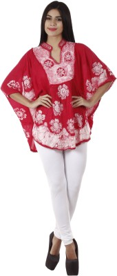 Famous by Payal Kapoor Printed, Embroidered Women's Tunic