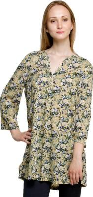 Oxolloxo Floral Print Women's Tunic at flipkart