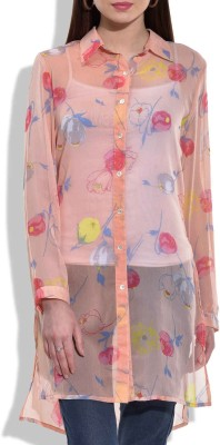 Eves Pret A Porter Floral Print Women's Tunic