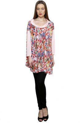 Gossip Girls Graphic Print Women's Tunic
