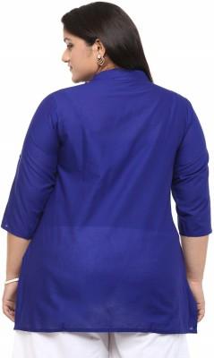kira plus Solid Women's Tunic