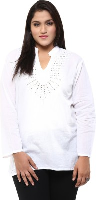 Love More Embroidered Women's Tunic