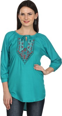 M&F Embroidered Women's Tunic