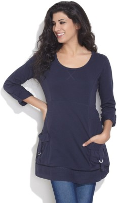 ESPRESSO Solid Womens Tunic