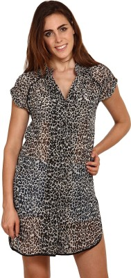 Miss Chick Animal Print Women's Tunic