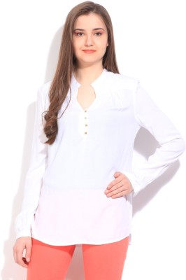 Elle Solid Women's Tunic