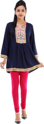City Cavos Embellished Women's Tunic