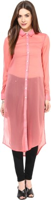 Magnetic Designs Solid Women's Tunic