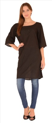 Skirts & Scarves Solid Women's Tunic
