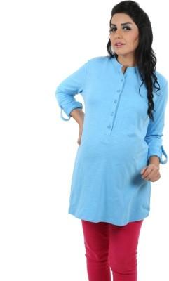 Kriti Western Maternity Solid Women's Tunic