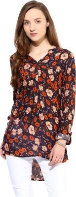 Raindrops Floral Print Women's Tunic
