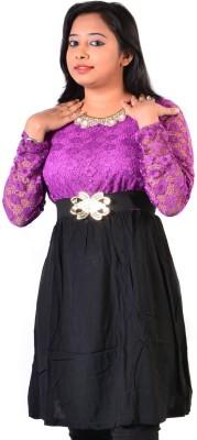 Glimmerra Solid Womens Tunic