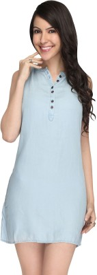 Again? Vintage Solid Women's Tunic