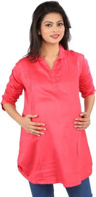 MomToBe Solid Women's Tunic