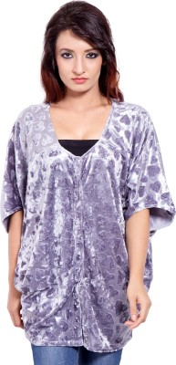 Tops and Tunics Self Design Women's Tunic