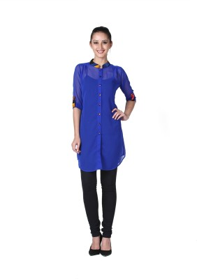 D&S Solid Women,s Tunic