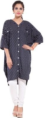 Goodwill Impex Polka Print Women's Tunic