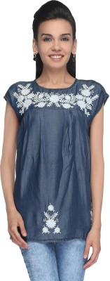 Again? Vintage Embroidered Women's Tunic