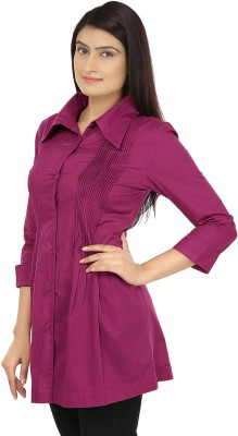 Eves Pret A Porter Solid Women's Tunic