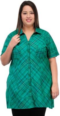 PlusS Checkered Women's Tunic