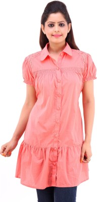 Pure Nautanki Solid Women,s Tunic