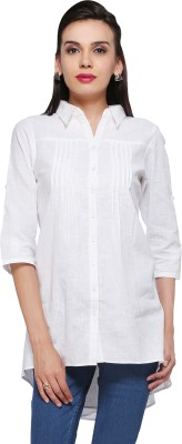 Delfe Solid Women's Tunic