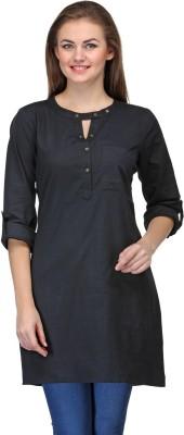 Kiosha Solid Women's Tunic