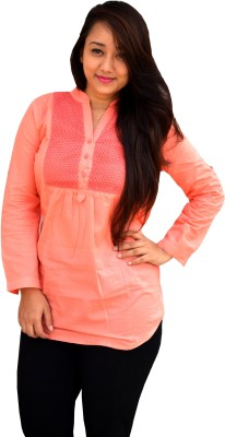 Aarti Collections Self Design Women's Tunic