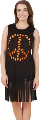 Mojeska Graphic Print Women's Tunic