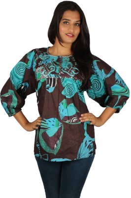 True Fashion Printed Women's Tunic