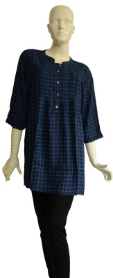 Jupi Checkered Women's Tunic