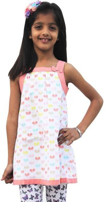 ShopperTree Floral Print Baby Girl's Tunic