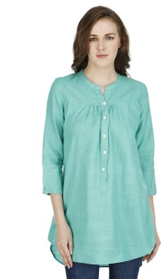 Drap Solid Women's Tunic