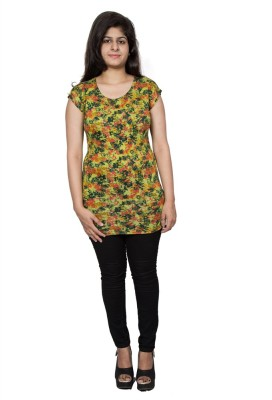 Tryonce Floral Print Women's Tunic