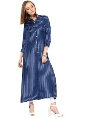 Raindrops Printed Women's Tunic