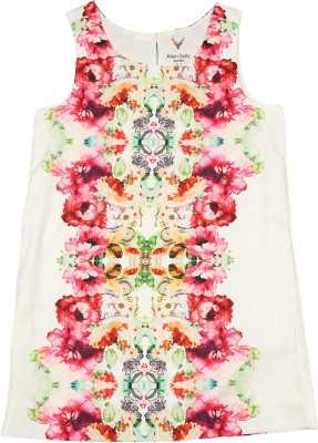 Allen Solly Casual Sleeveless Printed Girl's Multicolor Top